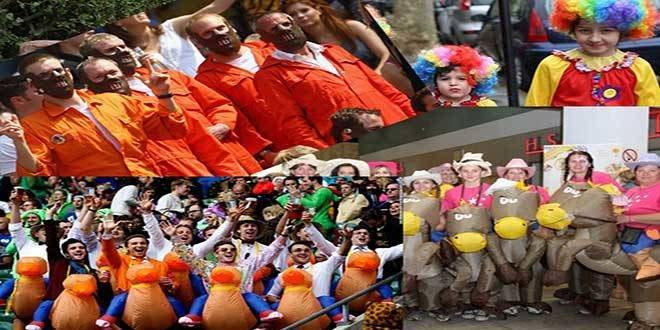 Gruppi di Carnevale: 5 idee molto originali