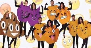 Costumi da emoticon, mascherarsi da cacca è divertente