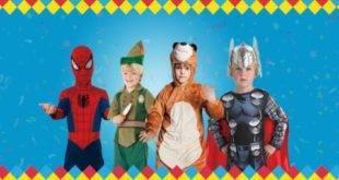 costume carnevale bambino