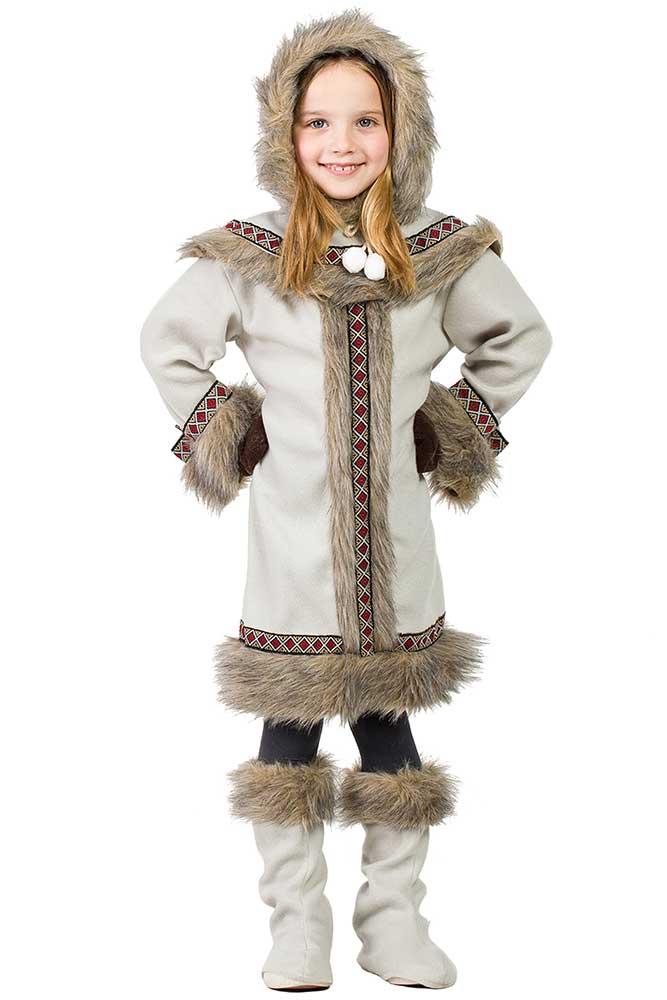 design senza tempo come ottenere bambino Costume da Eschimese Bimba