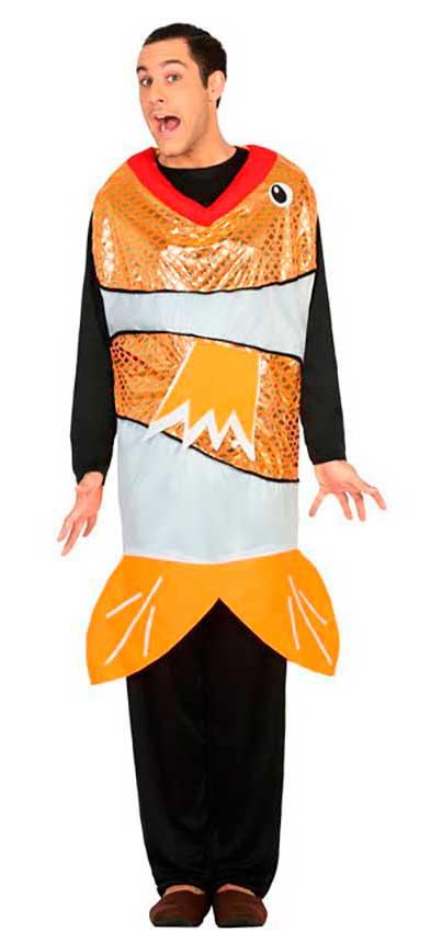 Favori Costume Pesce Adulto M/L per Carnevale 30689 | La Casa di Carnevale BR32