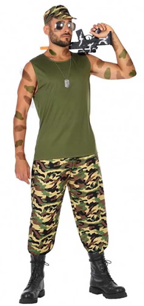 Ref4127La Uomo Carnevale Mimetico Casa Di Militare Costume doEBxeCWQr