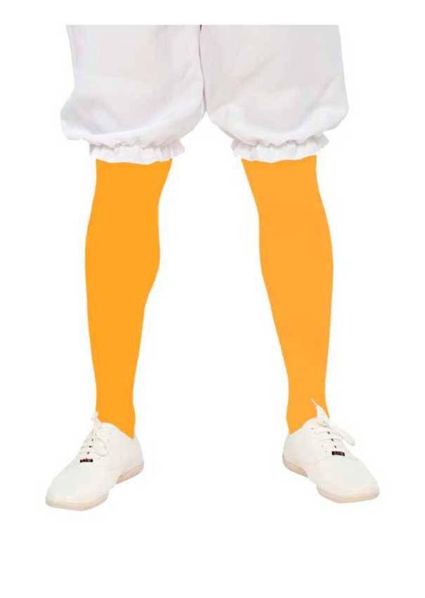 Calze Collant Gialli Adulto per Carnevale 09641 | La Casa di Carnevale