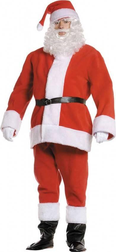 Costume Babbo Natale.Costume Babbo Natale Adulto Per Carnevale 2162 La Casa Di Carnevale