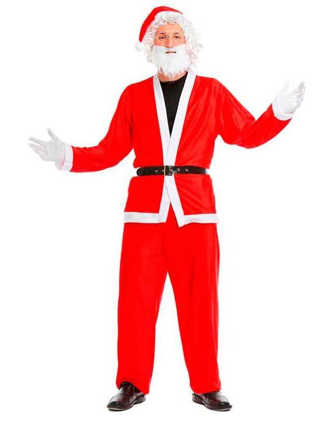 Costume Babbo Natale.Costume Babbo Natale S Per Carnevale 5155 La Casa Di Carnevale