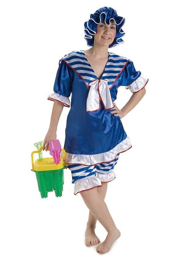 Costume Bagno 20 Donna M/L per Carnevale 917630   La Casa di Carnevale