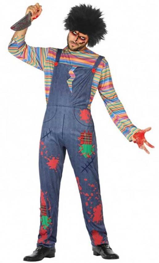 abbastanza economico bello economico vasta gamma Costume Bambola Assassina Adulto