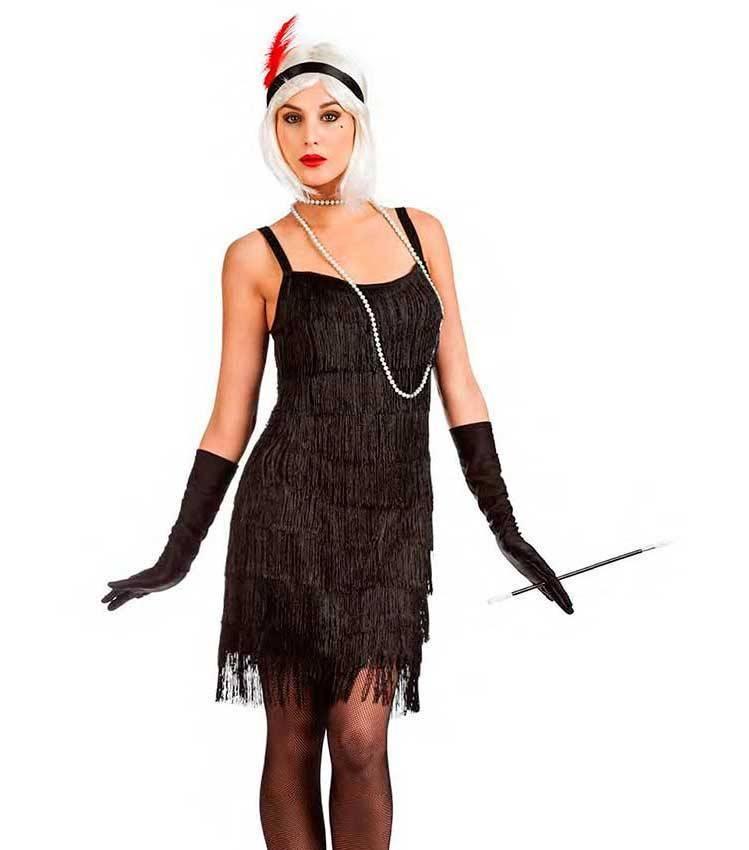 a32fca8deef2 Costume Charleston Frange per Carnevale 3194 | La Casa di Carnevale