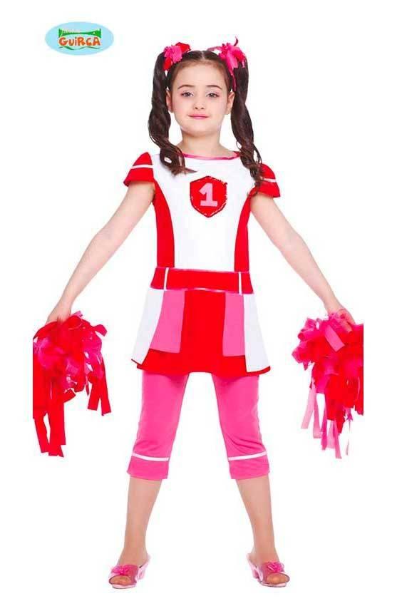 Costume Cheerleader Bambina per Carnevale 11966  53f0637cb05