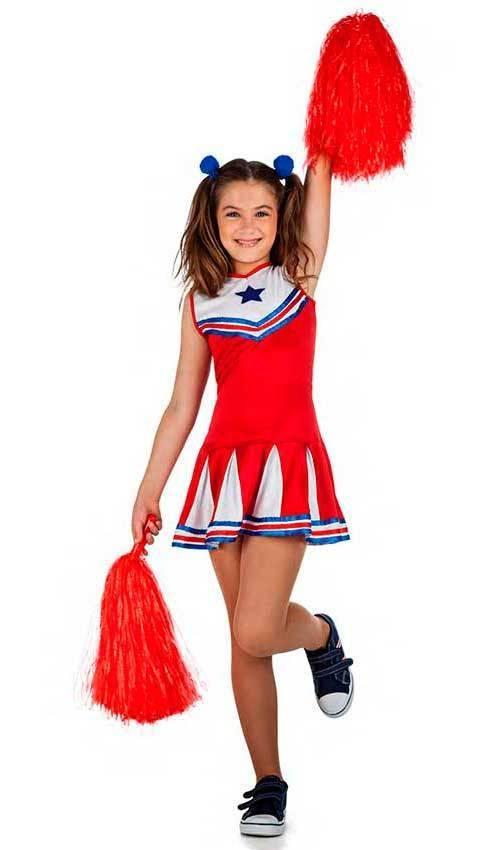 Costume Cheerleader per Carnevale 2609  6bb243a50ce