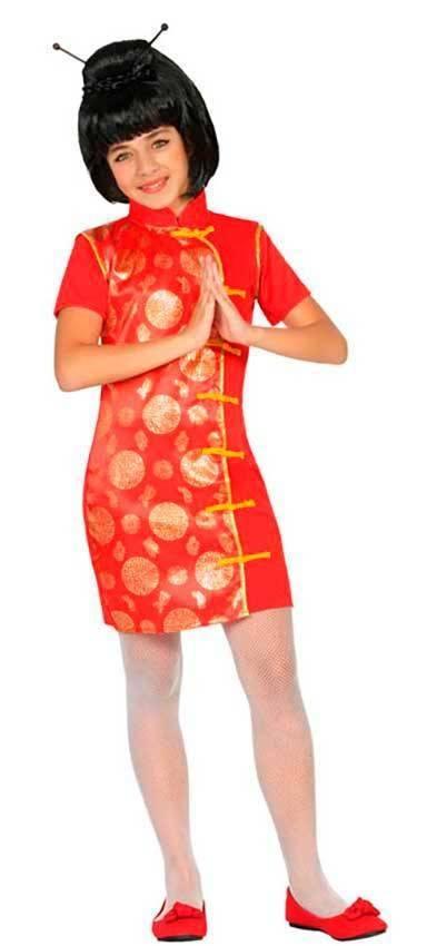 Costume Cinese Bambina per Carnevale 22310  81471661f4dc