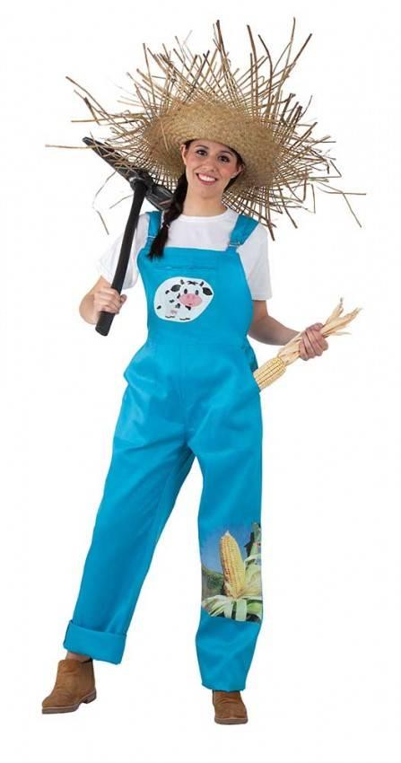 Costume Da Contadina Donna Adulto 3495 La Casa Di Carnevale