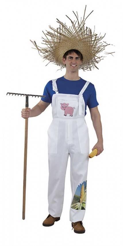 Costume Da Contadino Adulto Per Carnevale 5733 La Casa Di Carnevale