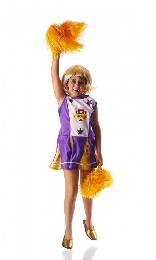 Costume Animatrice Bambina per Carnevale 4370  20f1d68f0f3