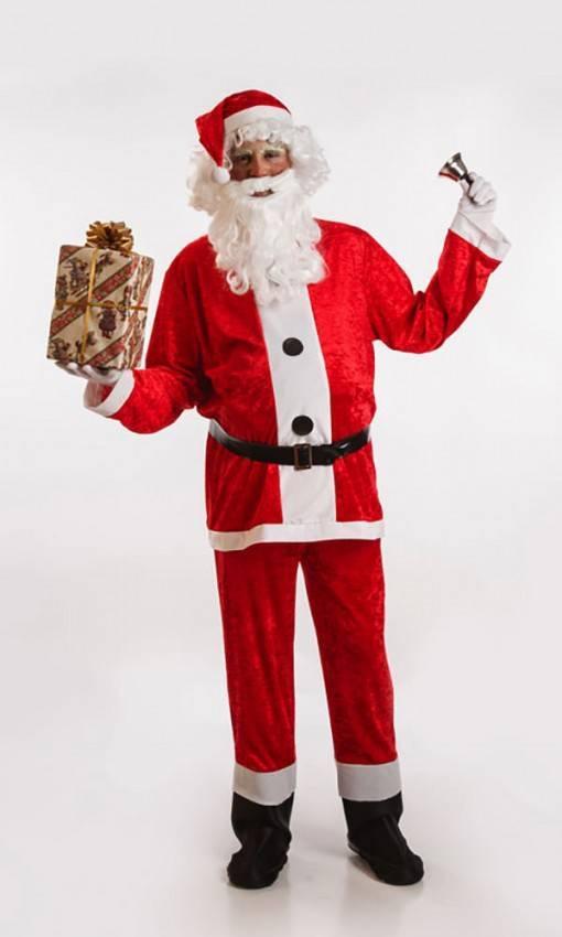 Costume Babbo Natale.Costume Babbo Natale Adulto M L Carnevale 5716 La Casa Di Carnevale