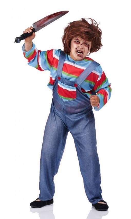 il più grande sconto Regno Unito stile romanzo Costume Bambola Assassina Bambino