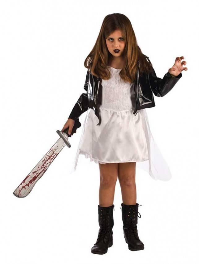 grande vendita ufficiale più votato vendite calde Costume da Bambola Assassina Diabolica Bambine