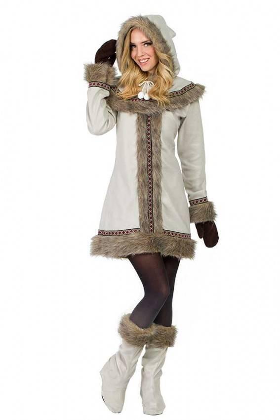 c40ae4ad36 Costume da Eschimese Donna 3171 | La Casa di Carnevale.it
