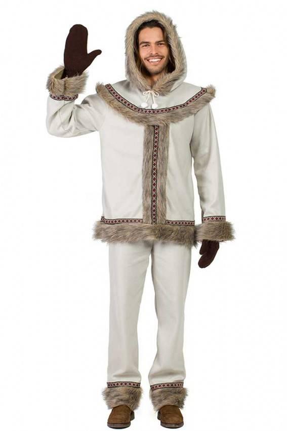 a61f753bf1 Costume da Eschimese Uomo Rif 7561 | La Casa di Carnevale.it
