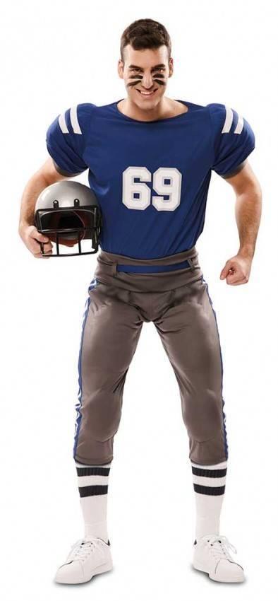 97162f978d77 Costume da Giocatore di Football Americano 6707 | LaCasadiCarnevale