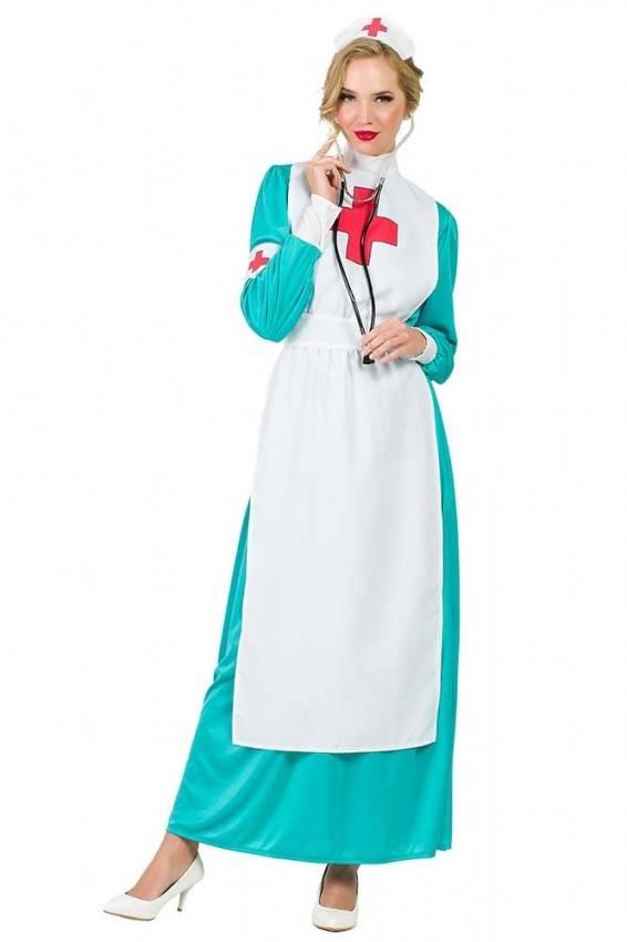 74454b1243 Costume da Infermiera Verde Adulto 7736 | La Casa di Carnevale