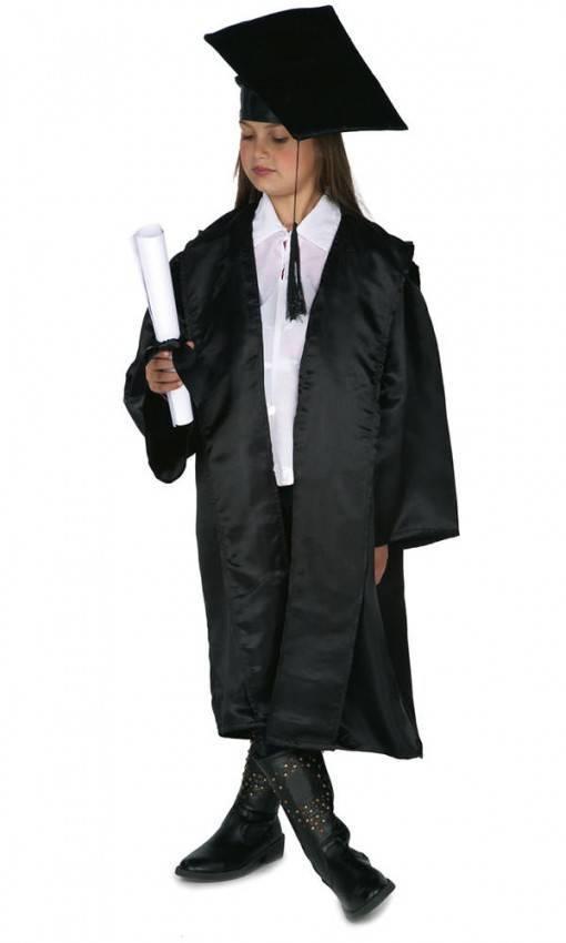 Costume da Laureato Bambino per Carnevale 9725  7584210bba9f