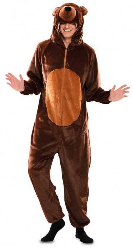 grande sconto per diversificato nella confezione shop Costume da Orso Adulto