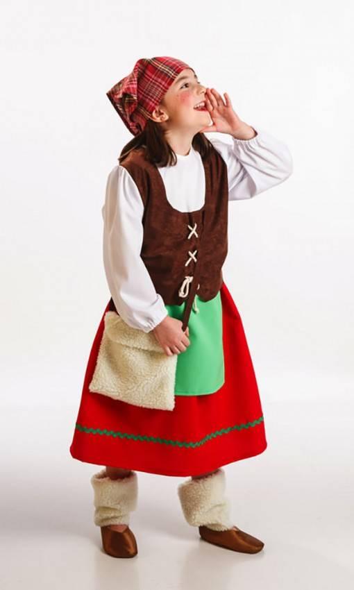 Costume Pastorella Bambina per Carnevale 1811 | La Casa di Carnevale