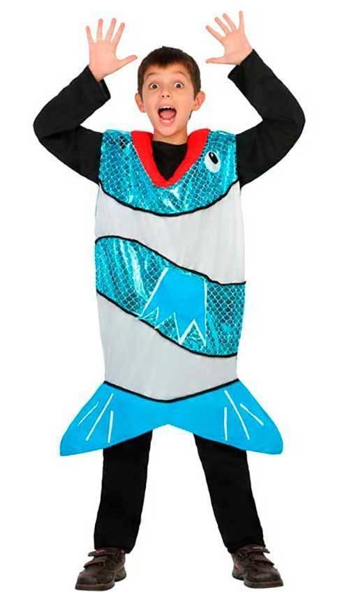 Aquariums & Tanks Costume Per Adulti Pesce Azzurro