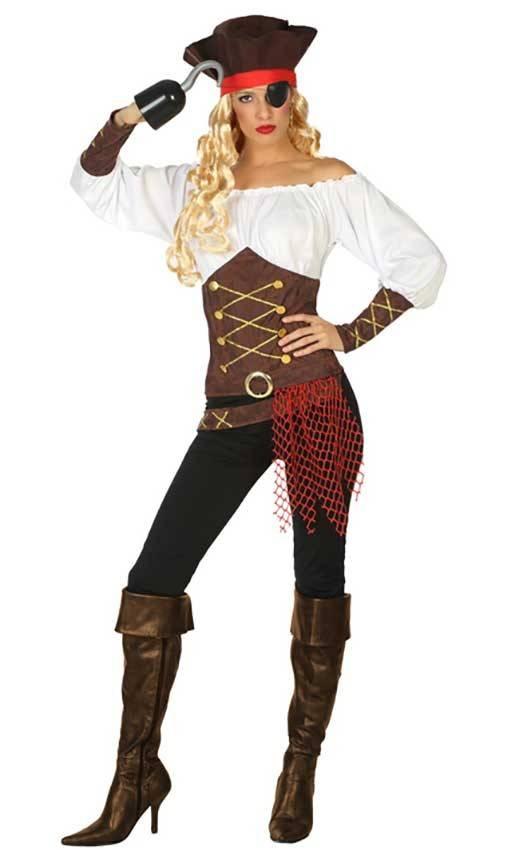 ineguagliabile diventa nuovo presa di fabbrica Costume Pirata Donna
