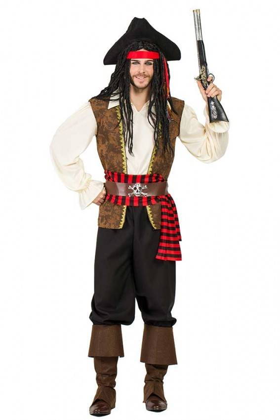 alta moda qualità stabile comprando ora Costume da Pirata Uomo