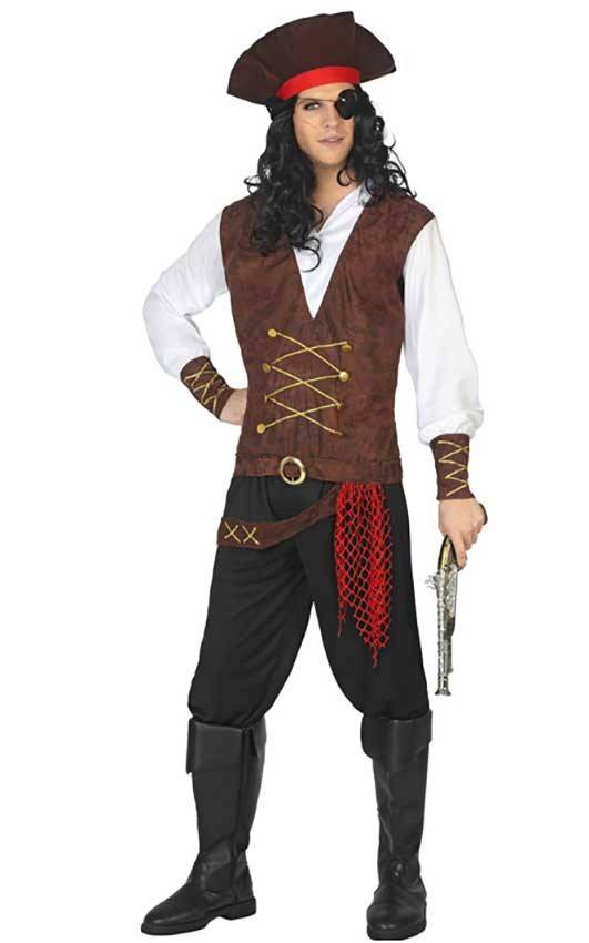 marchio famoso bambino ottima qualità Costume Pirata Uomo