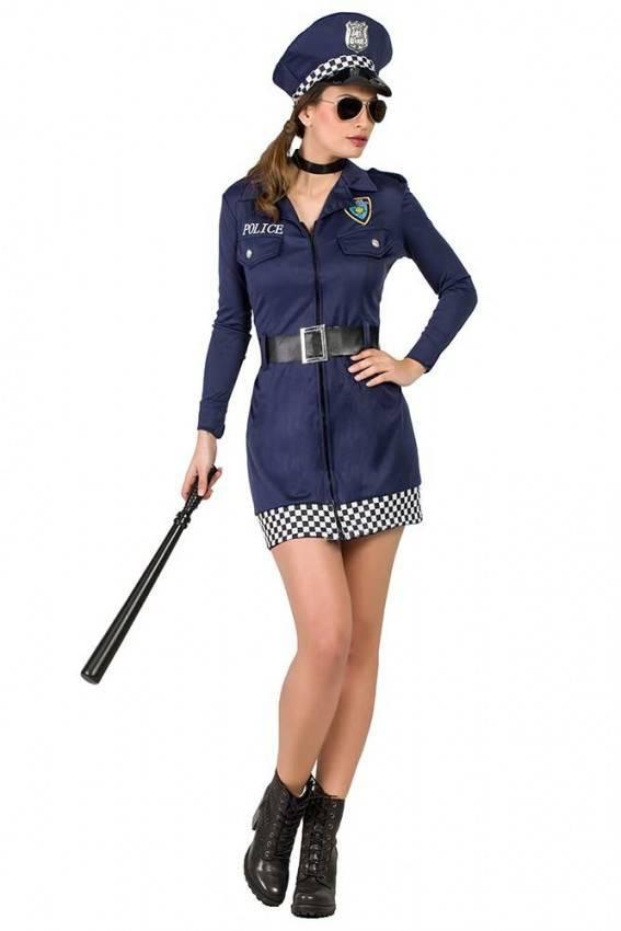miglior valore aliexpress a piedi a Costume da Poliziotta Donna