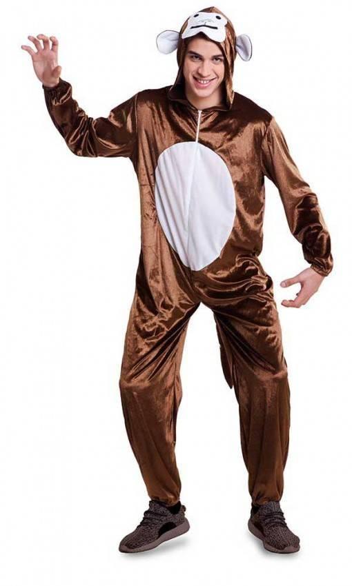 Costume da Scimmia Adulto per Carnevale 5690  851713b71fb