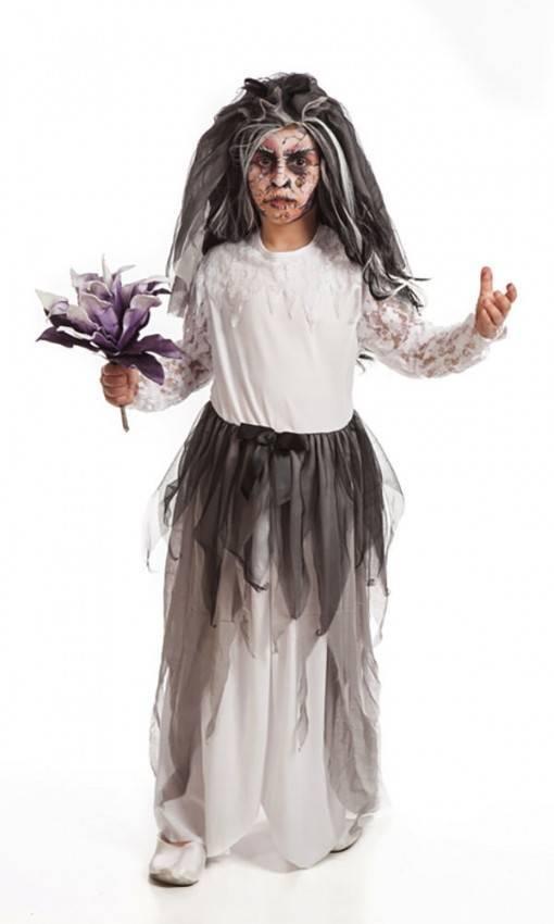 Costume Sposa Cadavere Bambina