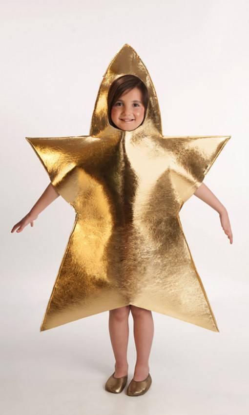 Vestito Da Stella Per Recita Di Natale.Costume Stella 5 A 7 Anni