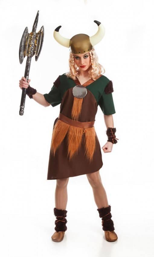 Costume da Vichinga Adulta M per Carnevale 5485  d72a6a81d88