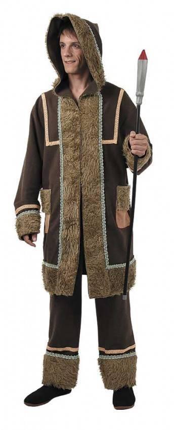 f3543fe476 Altre viste. Costume da Eschimese Uomo Adulto per Carnevale ...