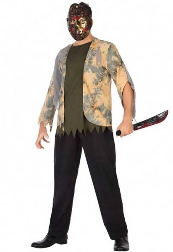 design di qualità prezzo competitivo professionale più votato Costume Jason Voorhees Adulto