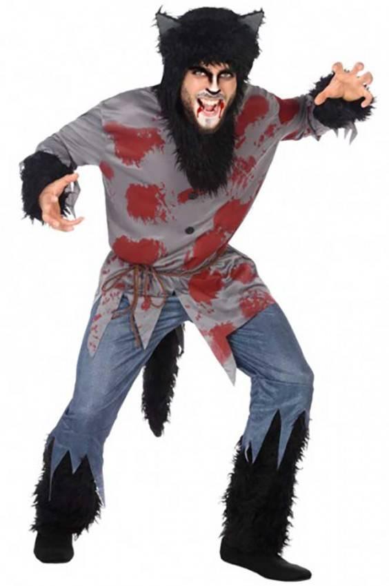 6fe100bdfdb7 Costume Lupo Sanguinante Uomo Ref. 4839 | La Casa di Carnevale