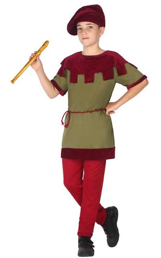 presa di fabbrica vestibilità classica Vendita calda 2019 Costume Medievale Bambino
