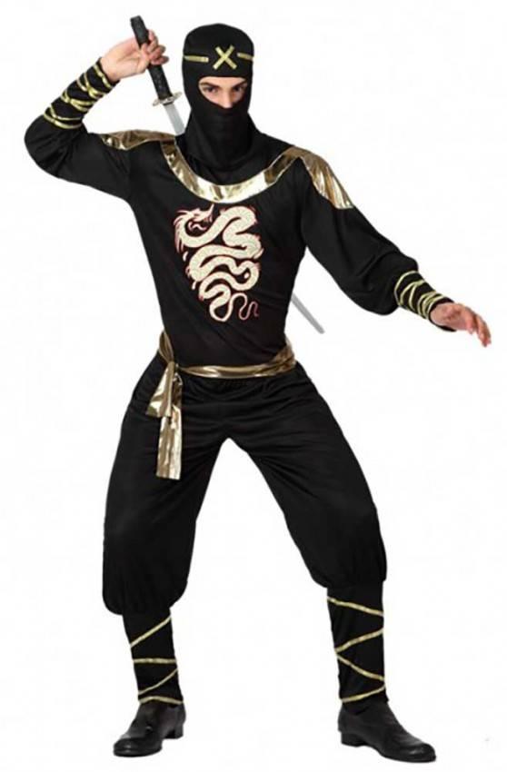 Costumi Halloween Adulti.Costume Ninja Adulto