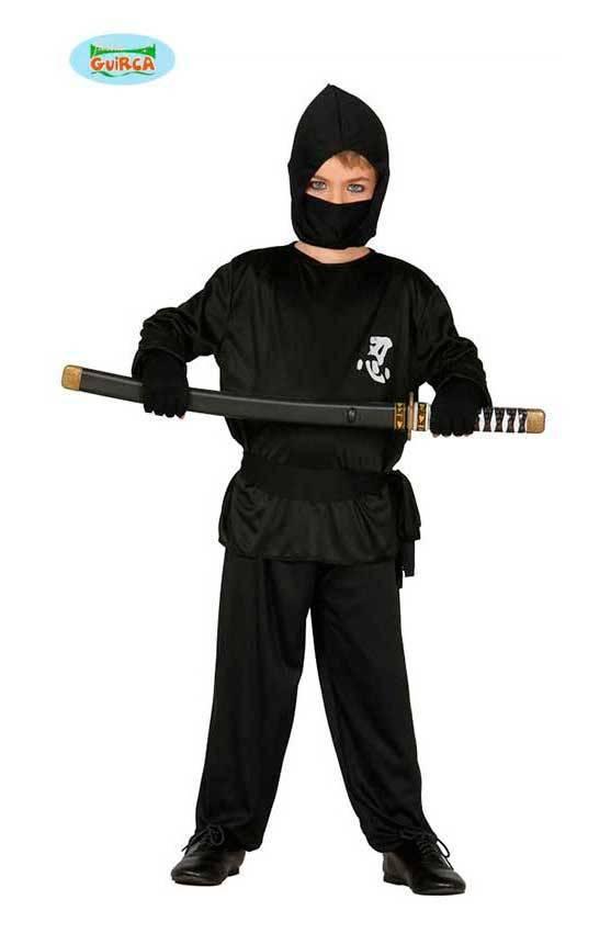 acquista lusso Vendita scontata 2019 andare online Costume Ninja Nero Bambino