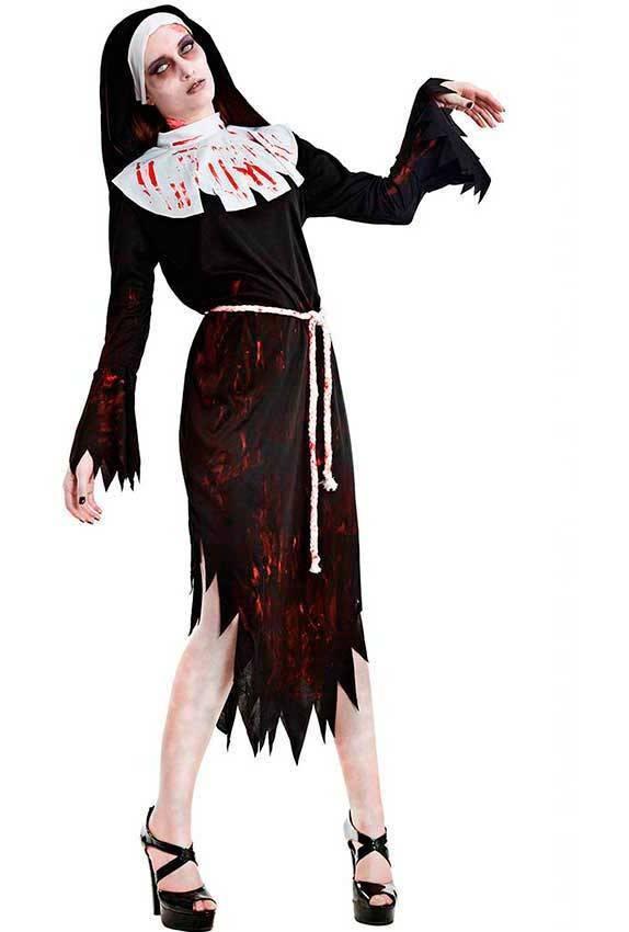 maggiore sconto di vendita vera qualità prezzo di strada Costume Suora Zombie