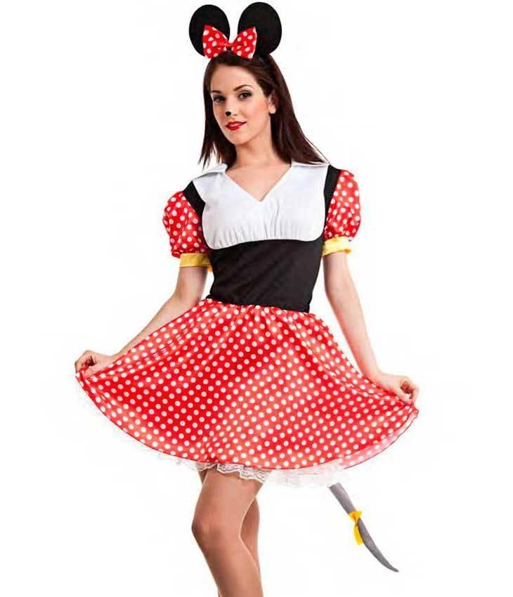 45eed5b03a60 Costume Topolina Minnie XL per Carnevale 0186 | La Casa di Carnevale