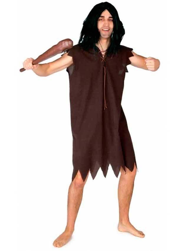Costume uomo della caverna per carnevale 2772 la casa di for Planimetrie della caverna dell uomo