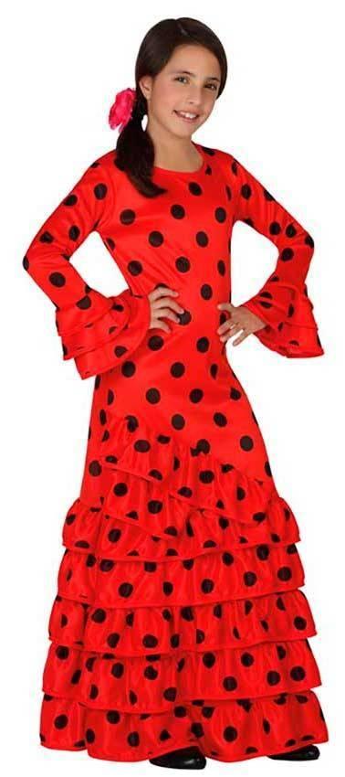 374a36e6557dc Costumi Ballerina Spagnola per Carnevale 26530