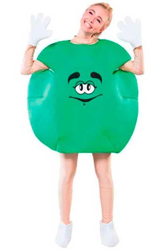immagini dettagliate bene fuori x vendita a buon mercato nel Regno Unito Costumi Caramelle Verde per Carnevale 70623 | La Casa di Carnevale