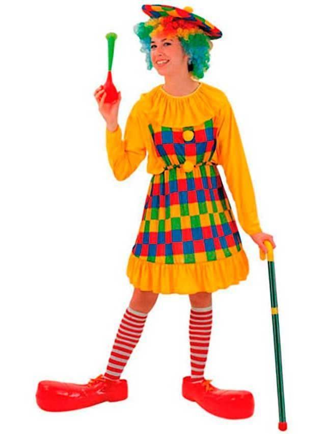 Costumi Clown Pagliaccio Per Carnevale 89684 La Casa Di Carnevale