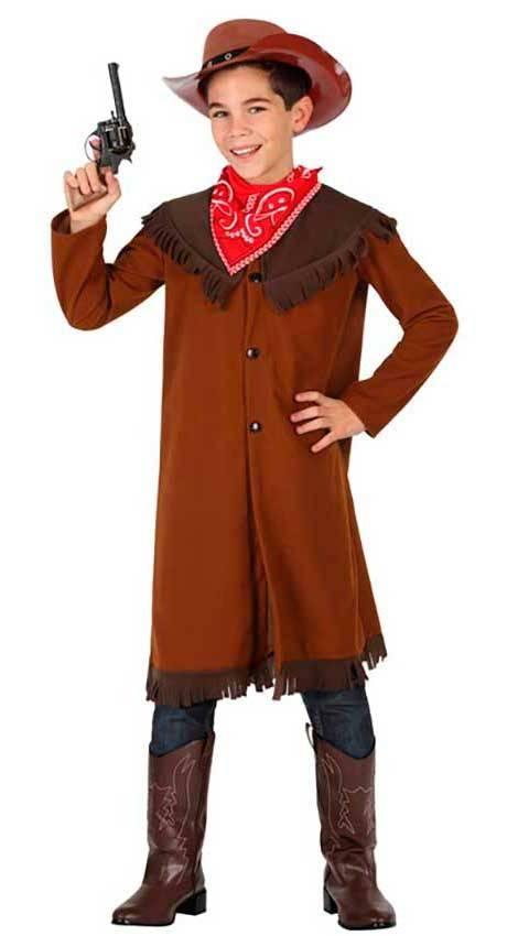 venduto in tutto il mondo online qui vestibilità classica Costume Cowboy Bambino